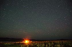 テント泊乗馬トレッキングで行く、大草原で星空満喫ツアー