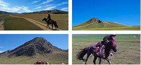 モンゴルの自然