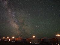モンゴルの星空