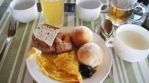 朝ごはん例 モンゴルのパン